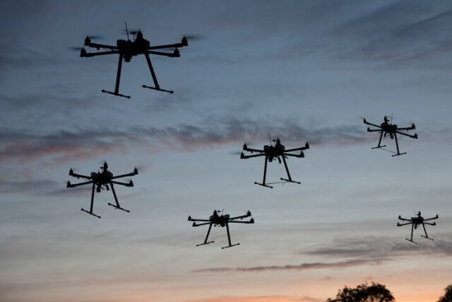 Picture of Six UAVs